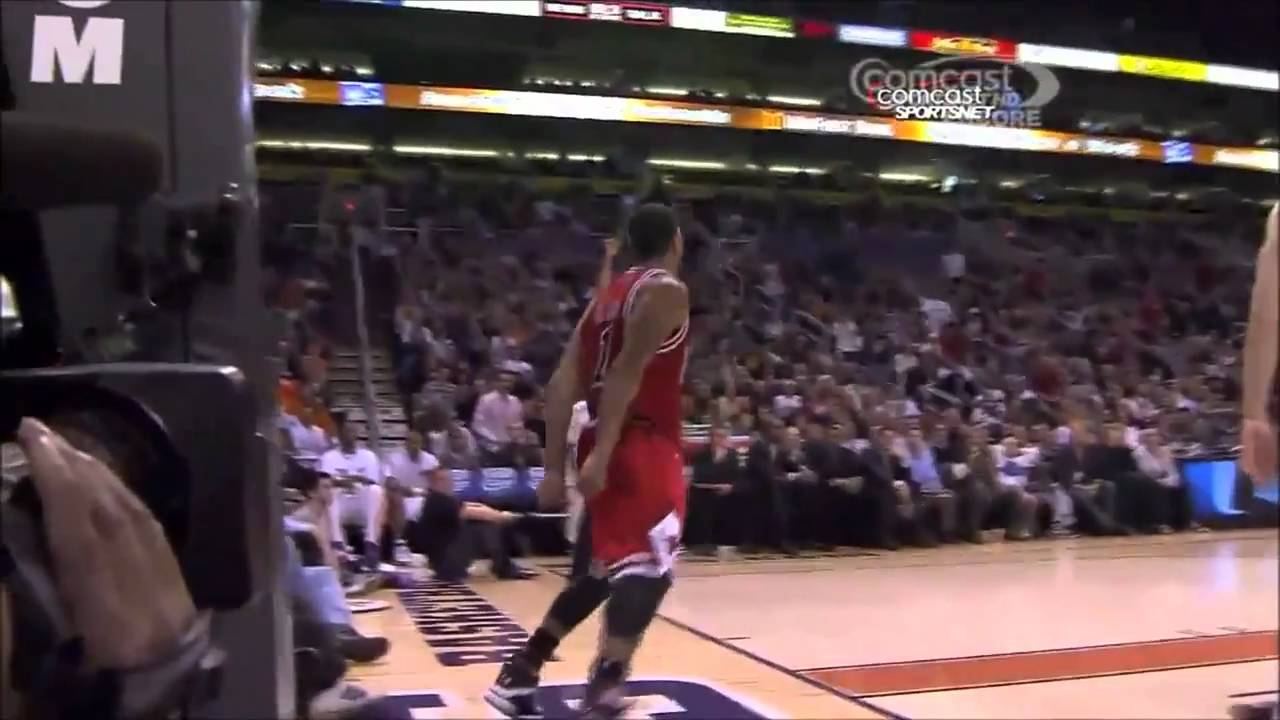 derrick rose dunks what are you doing dragic