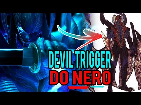 Devil May Cry 5 - Devil Trigger do Nero Será Assim  ??
