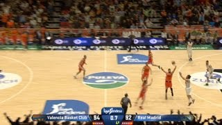 Sergio Llull with the buzzer beater of the year!