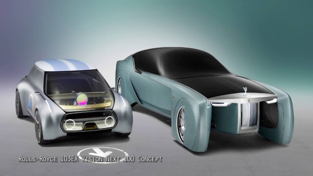 rolls royce 103ex vision next 100 concept - youtube