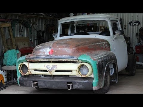 1956 Ford F100 Pickup Truck Build Project