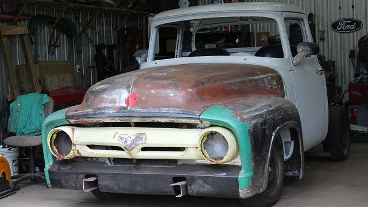 1956 Ford F100 Pickup Truck Project