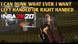 2K20 Dominant hand in Shooting and Dunk v76|78
