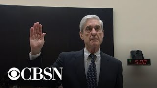 Former special counsel Robert Mueller testifies on Capitol Hill