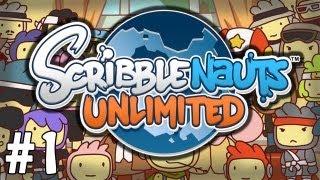ScribbleNauts Unlimited Walkthrough - Capital City | Let