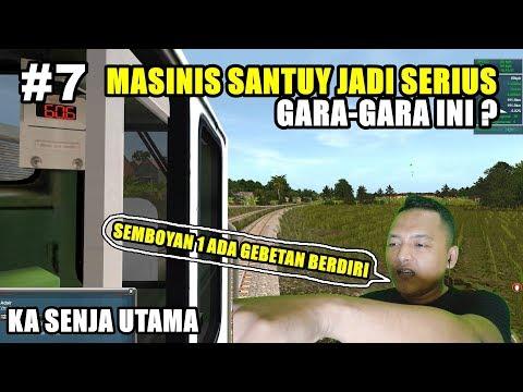 MASINIS SANTUY JADI SERIUS GARA-GARA INI ?? -- DINAS KA SENJA UTAMA TRAINZ SIMULATOR 2012 - 동영상