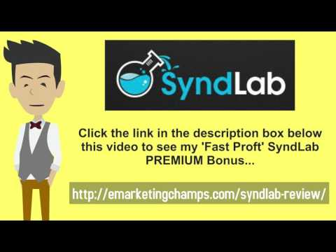 [SyndLab Review] Honest Review & Bonus Strategies: (Synd Lab Review) See honest review of SyndLab, learn how it works & discover unique SyndLab BONUS strategies: http://emarketingchamps.com/syndlab-review/  ---- Start by identifying the forums and message boards where your potential SyndLab review clients and customers would frequent. You can start by posting interesting topics or answering some of the questions that get asked on the forum. So set goals on the amount that you want to post and make sure that you do it as a consistent strategy to generate leads.  Hanging out in forums is about building your online persona and promoting your SyndLab bonus package, its not something that happens overnight. So expect to invest a few weeks to a months in becoming someone. A few hours a week could produce results that are disproportionate to the effort so get on that keyboard and start typing away.  When you have a customer who is happy the first thing you have to think about who does he know that will also enjoy your product. Sometimes the customer offers to introduce you to his friends and family and boom you have a customer advocate. Sometimes you need to ask the customer if he has referrals.  When a customer either receives the product or service he should be give  a questionnaire to fill out and ask is there anyone that they can introduce you to. This can be sent by email, web form or done through social media. In most cases if the customer was happy with the service or product he would be happy to introduce it to his circle of friends and family.  Synd Lab Review - https://www.youtube.com/watch?v=uRB2tgGkvgc  See honest review of SyndLab, learn how it works & discover unique Synd Lab BONUS strategies: http://emarketingchamps.com/syndlab-review/