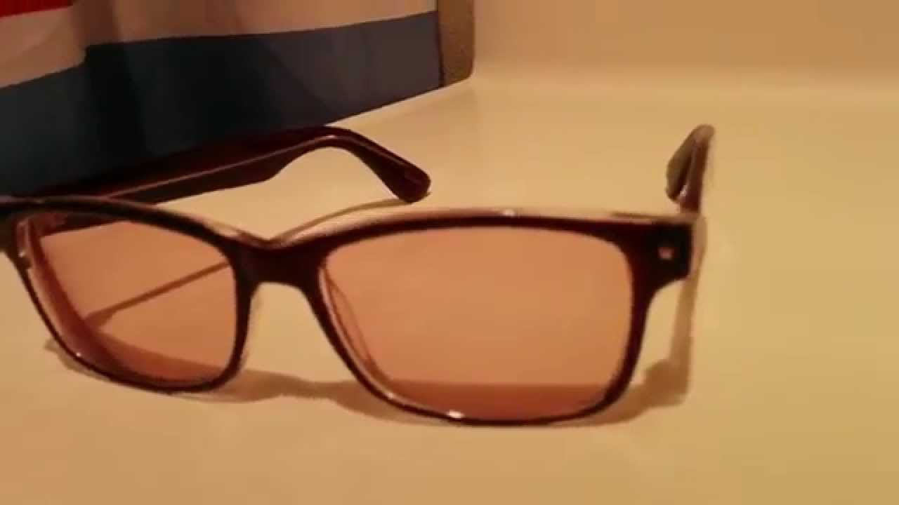 b622cb98fbc4 Zenni Optical 10% Amber Tint - YouTube