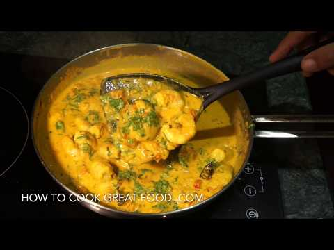 Prawn Curry Shrimp Masala Recipe Coconut Milk