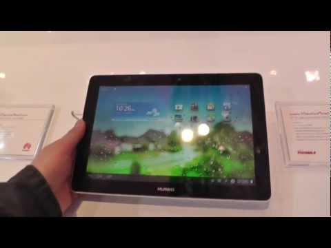 Huawei MediaPad 10 Link Hands On at MWC