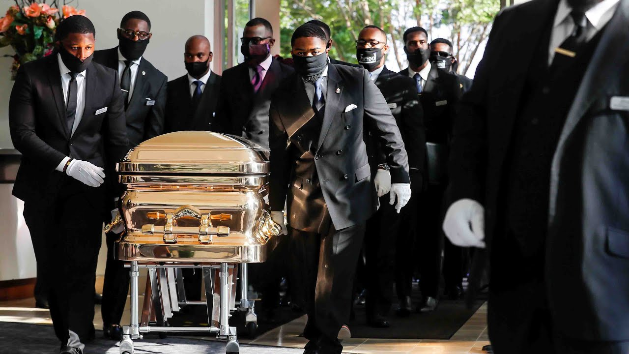 Пафосные похороны Джорджа Флойда