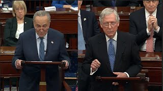 Senate leaders argue impeachment case before vote