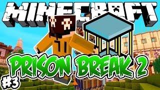 A NOVA CELA?! - PRISON BREAK 2: Minecraft #3
