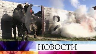 В Смоленской области прошли первые в истории Росгвардии масштабные соревнования.