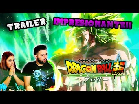 ESTO ES UNA LOCURA! DRAGON BALL SUPER BROLY TRAILER EXTENDIDO (REACCION)