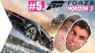 TAPADOK A HÓBA! | Forza Horizon 3 Blizzard Mountain #5.