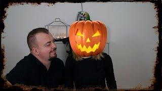 Halloweenowy makijaż w wykonaniu Pawła