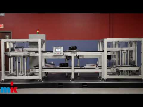 Over Under Pallet Conveyor System