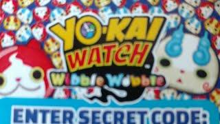 Yokai Watch Wibble Wobble Secret Code