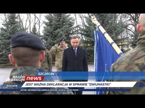 Radio Szczecin News 11.03.2019
