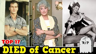 Athletes Who Died Of Cancer