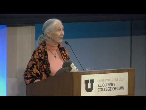 Reasons for Hope: An Afternoon with Jane Goodall