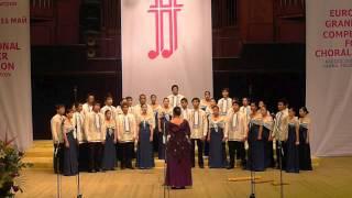 Ateneo de Manila College Glee Club - BEGALA RADA RADO LE