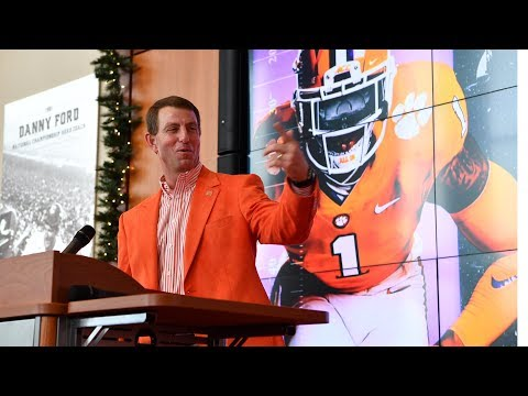 Clemson Football || National Signing Day Press Conference  • Feb. 2019