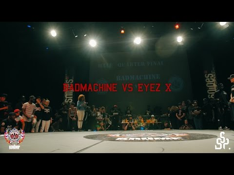 Badd Machine vs Eyez X | Male Quarterfinal | EBS KRUMP WORLD CHAMPIONSHIP 2016