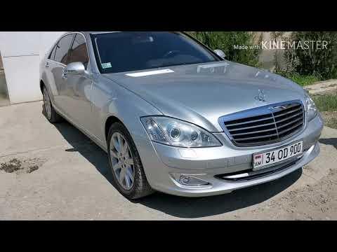 Авто из Армении, Mercedes S550, пробег 73000км,2006г, 15300$