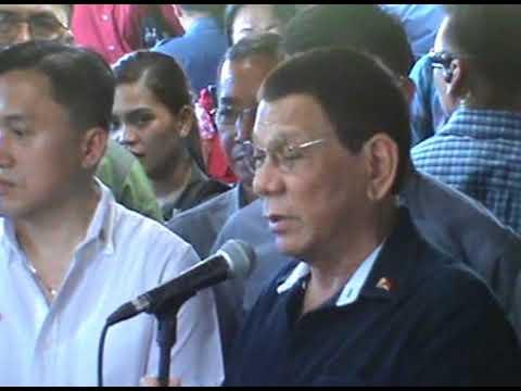 President Rodrigo Duterte Visit in Iloilo