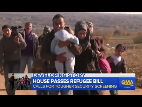 US House Votes to Suspend Syrian Refugee Program