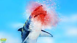 Поймал МЕГА ЛЕГЕНДАРНУЮ РЫБУ и Огромную Хищную АКУЛУ в прикольной мобильной топ игре Fishing Strike