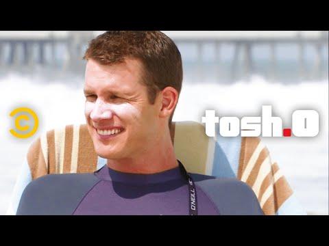 Bumbling Surfer - Full Episode - Tosh.0