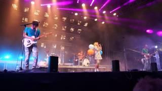 MIA live @ Stadtfest Dresden August 2015 - Tanz der Moleküle