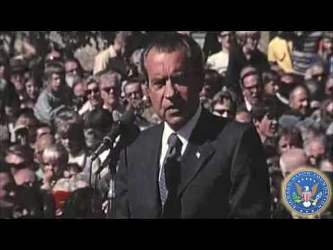 President Nixon Discusses Energy Policy