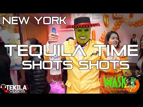 Party Time - The Mask Tequila Show - Robot LED | Dj Tekila NYC