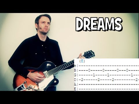 Cranberries Dreams guitar tab & chords RIP Delores O'Riordan