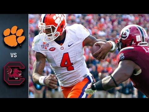 Clemson vs. South Carolina Football Highlights (2015)