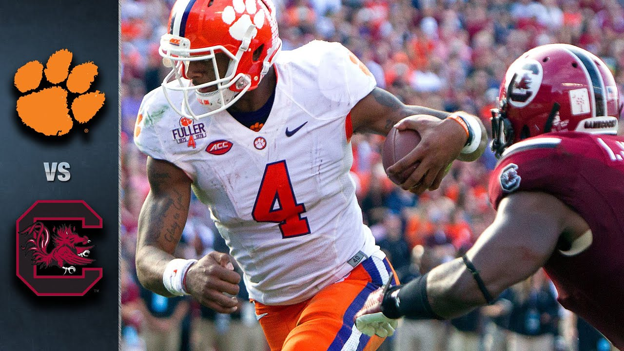 Clemson vs. South Carolina Football Highlights (2015 ...