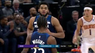 Phoenix Suns vs Minnesota Timberwolves : January 20, 2019