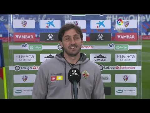 Calentamiento SD Huesca vs Elche CF