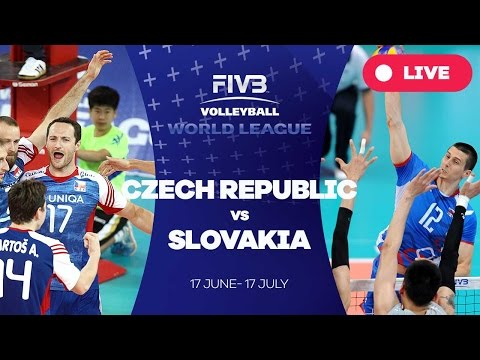 Czech Republic v Slovakia - Group 2: 2016 FIVB Volleyball World League