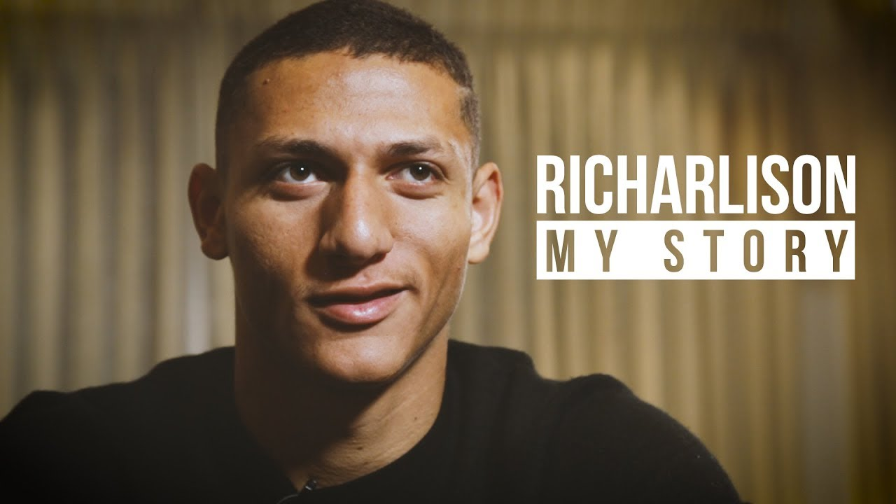 """Richarlison's inspiring story 