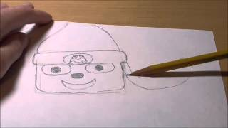 How to Draw: Parappa The Rapper