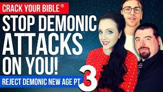 👁️ REJECT DEMONIC NEW AGE Pt. 3   Steven Bancarz + Josh Peck (Spirituality)