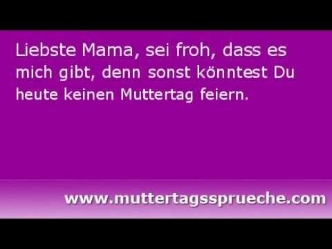 Lustige Muttertagsspruche Youtube