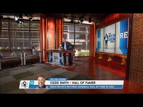 Baseball Hall of Famer Ozzie Smith Joins the Rich Eisen Show | Full Interview | 6/26/17