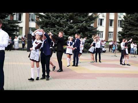 Танец выпускников. г. Эртиль.