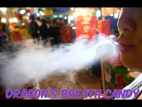 Dragon's Breath (INSANE Liquid Nitrogen CANDY ) | SASVlogs
